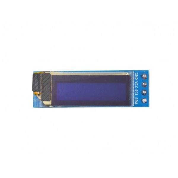 OLED Display Blue