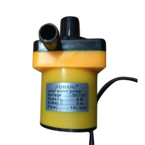 12v Water pump yellow