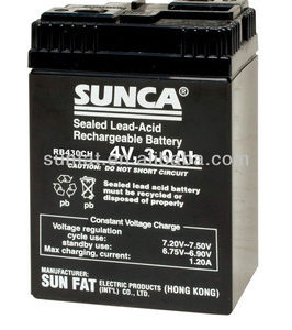 Sunca 6v Rechargeable-lead-acid-battery