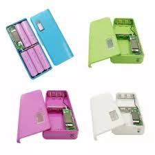 power bank casing 5 battery's